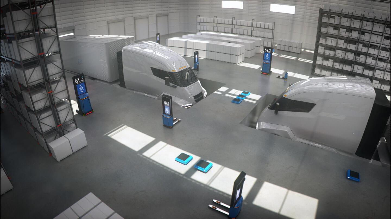 pallet drone future logistics