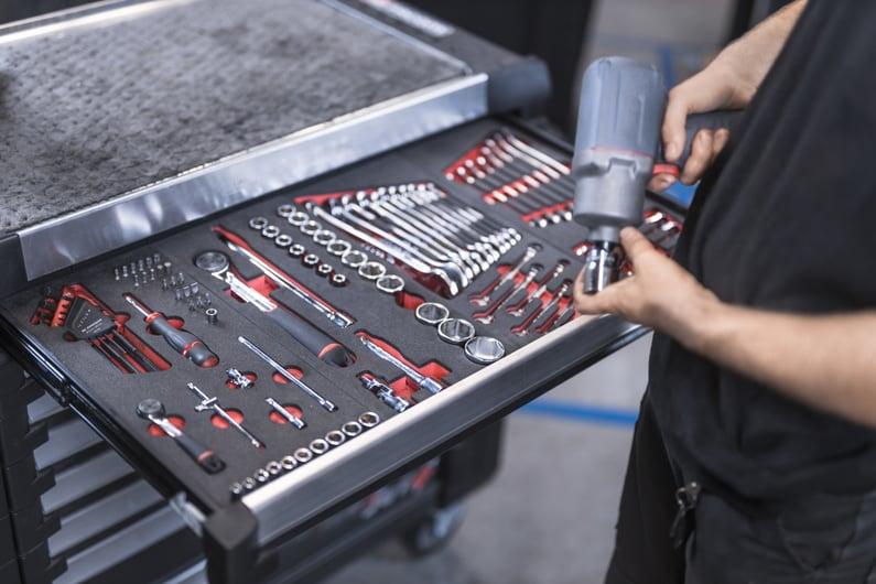 carro de herramientas 5s