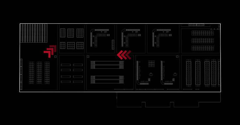 esquema layout almacen