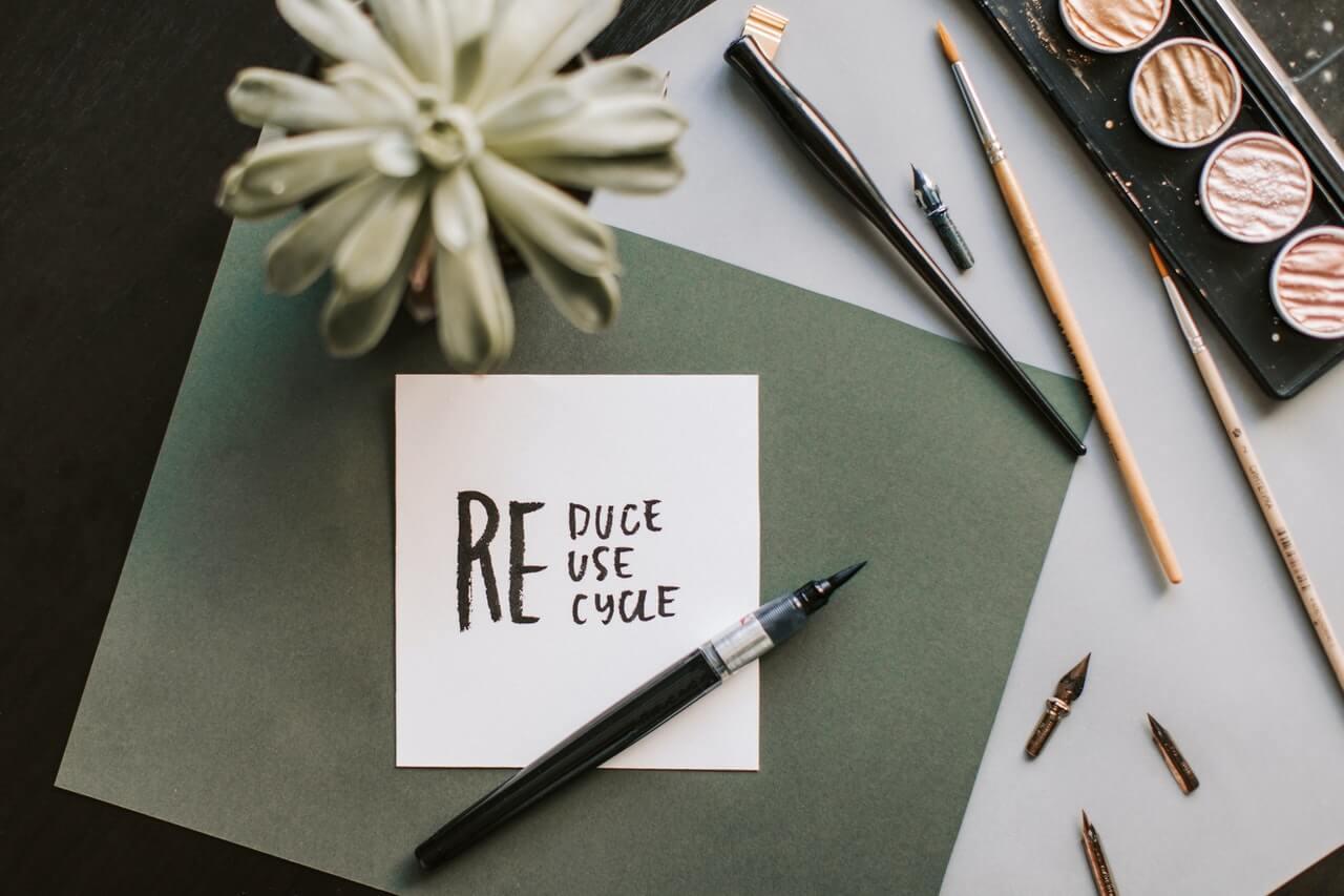 regla de las tres erres reciclar reutilizar revalorizar